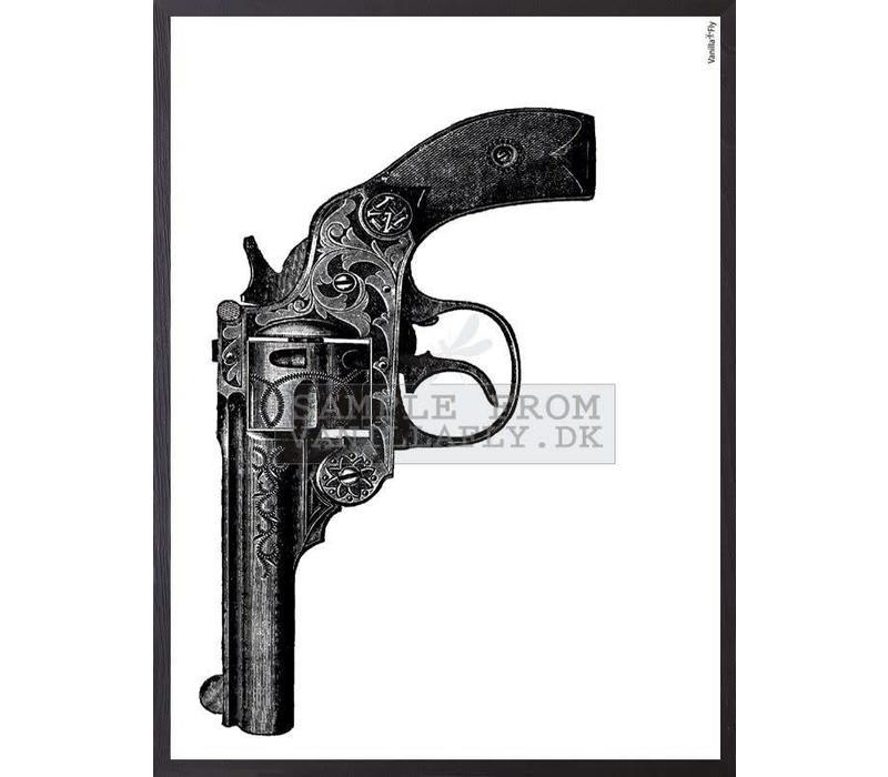 Frame 30x40cm Gun