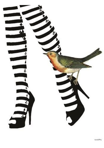 Frame 20x25cm Legs With Stripes