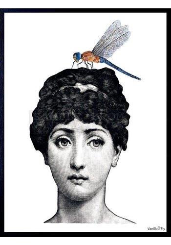 Frame 20x25cm Lady with bug