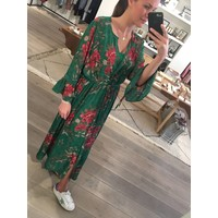 Dress Rome Flower print Green