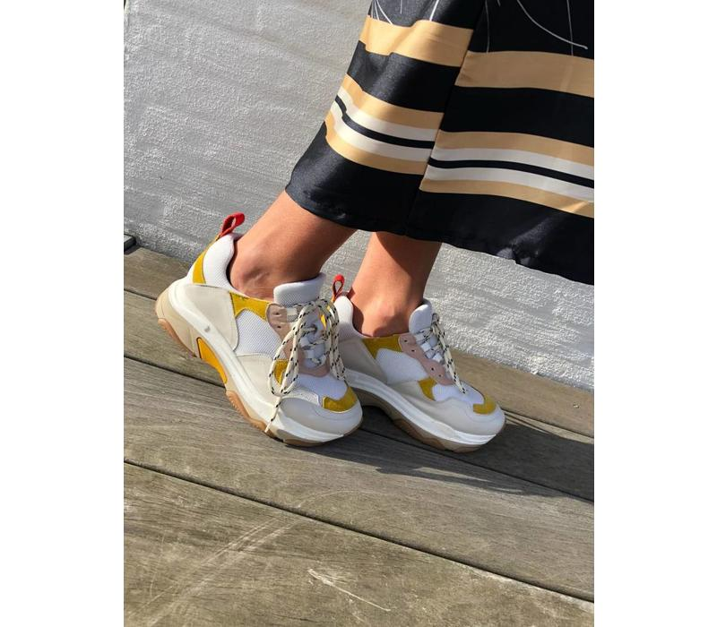 Blake Sneaker White/Yellow