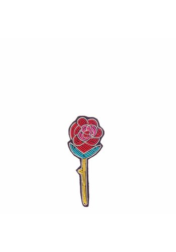 Les Soeurs Tilda Brooch Rose