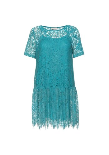 The Korner Lace Dress 8128040 Turquoise