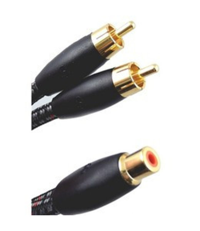 AudioQuest FLX-X Flexible Y RCA Splitter Kabel