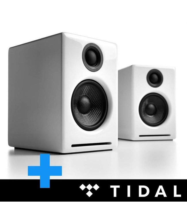 Audioengine A2+ met S8 voordeelbundel (wit)