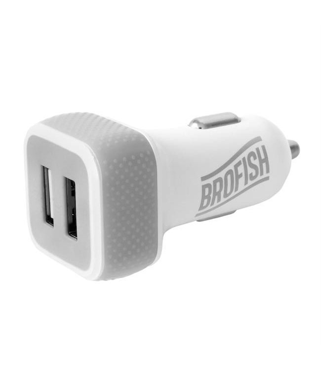 Brofish USB Carcharger Duo (duo pack)