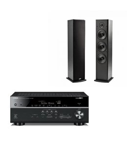 Yamaha RX-V681 + 2x Polk Audio T50