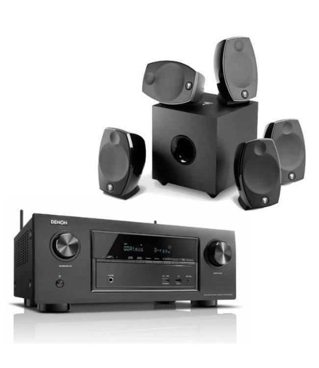 Denon AVR-X3300W + Focal Sib Evo 5.1