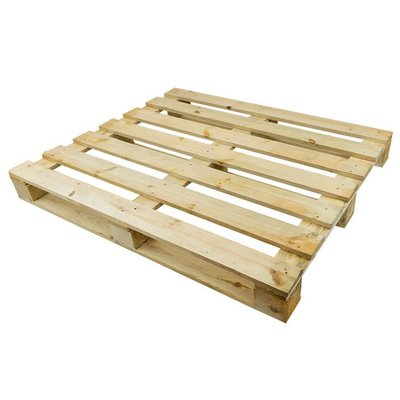 Rotom Eenmalige lichte houten pallet 1200x1000x120mm