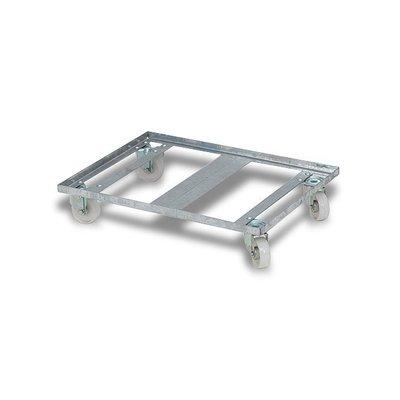 Rotom Metalen dolly 800x600x150mm - voor distributie bakken