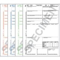 CMR Vrachtbrieven Laser 4321 ongenummerd