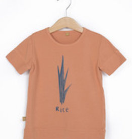 Lotie kids T-shirt Rice Peach