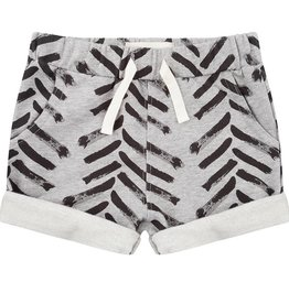 Little Indians Arrow Shorts Grey Melange