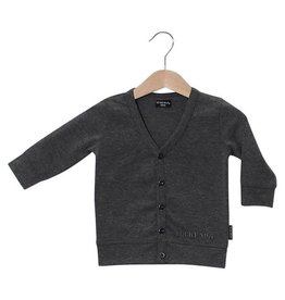 Lucky No.7 Little Grey Cardigan