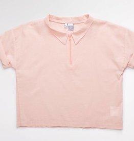 MIO*CO Blouse wide cotton pink
