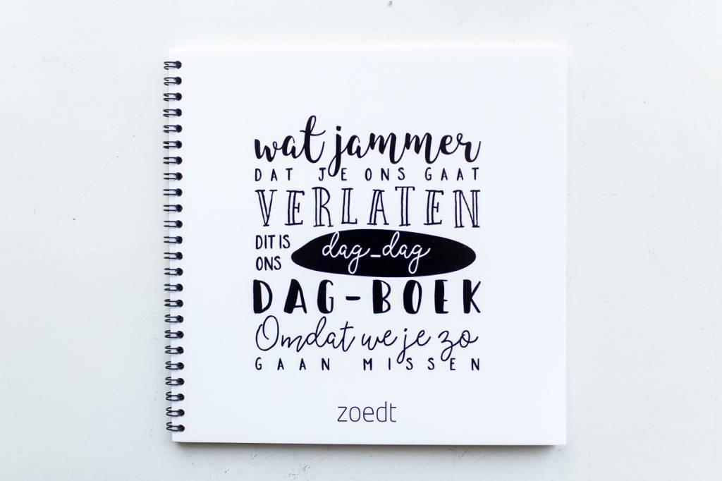 Zoedt Dag dag- boek