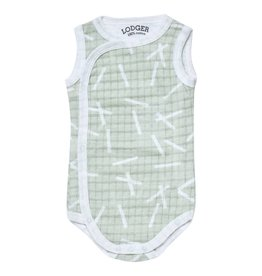 Lodger Romper Newborn leaf