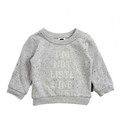 Sproet & Sprout Sweater I'am not listenting