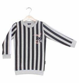 Lucky No.7 Stripy sweaterdress