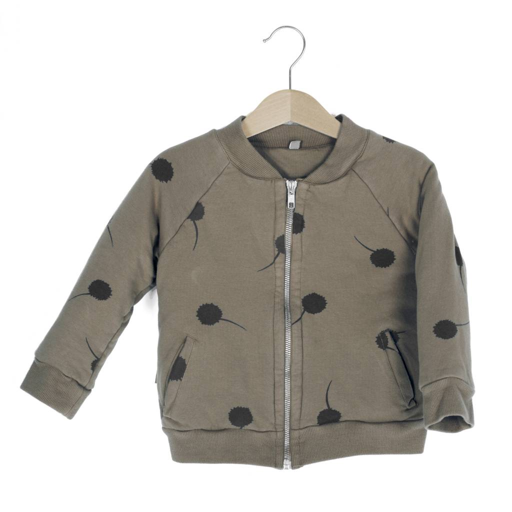 Lotie kids Bomber padded jacket Taupe