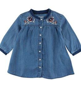 small rags Fanny LS dress indigo blue