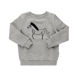 Maed for mini Sweater happy horse elephant
