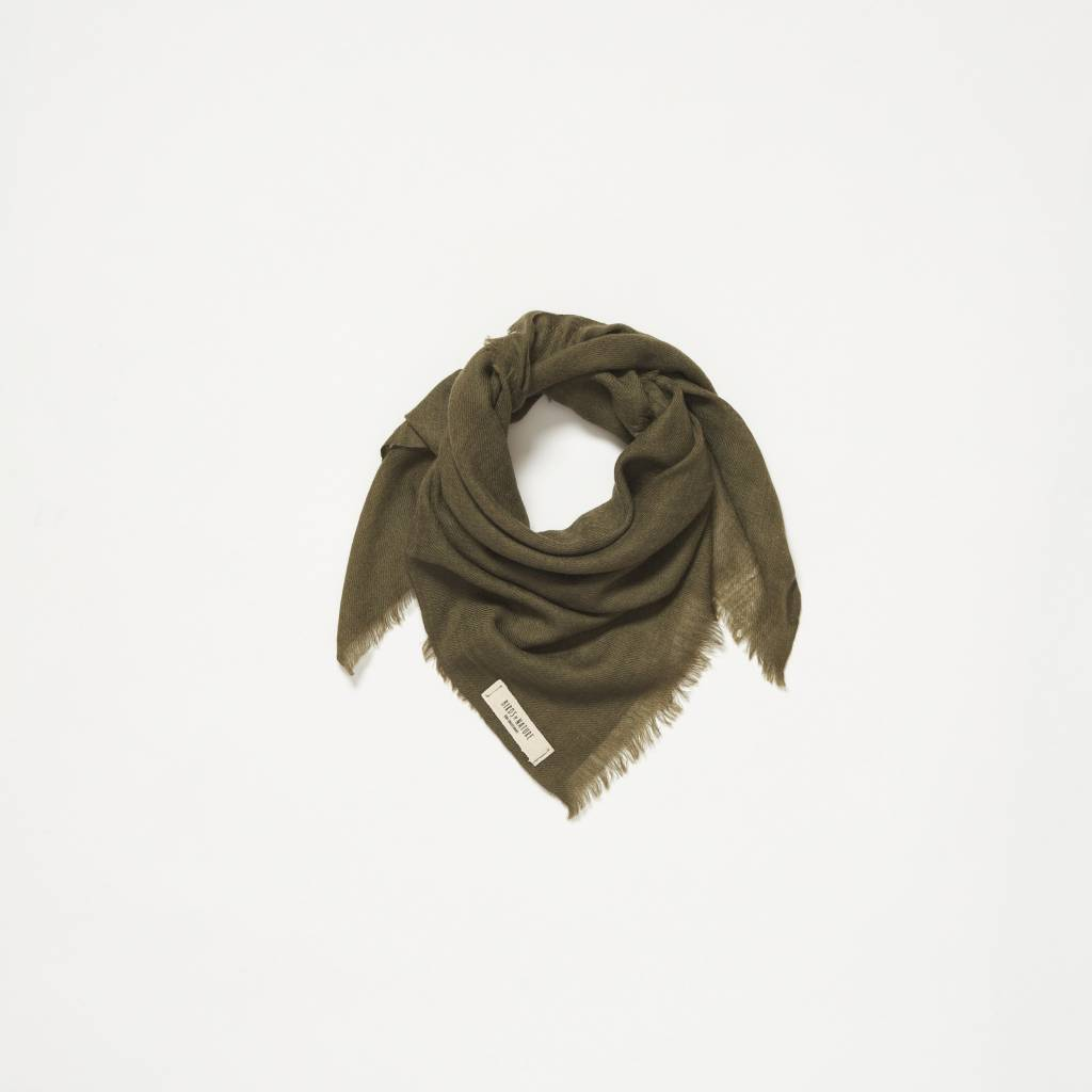 Birds of nature Birds scarf olive
