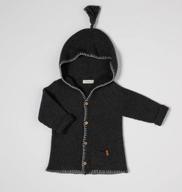 nixnut Hoodie knit antracite