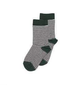 Mingo Knee sock striped/emerald