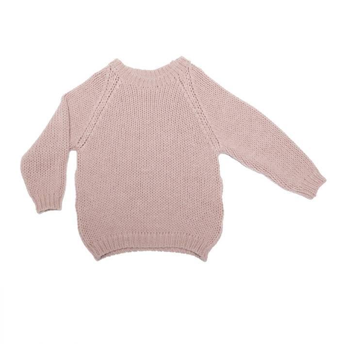 Mingo Sweater Alpaca pink