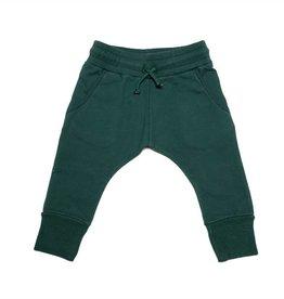 Mingo Loose fit jogger baby sweat emerald