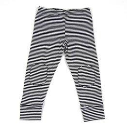 Mingo Legging jersey B/W stripes