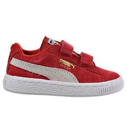 Puma Suede 2 straps inf red/white