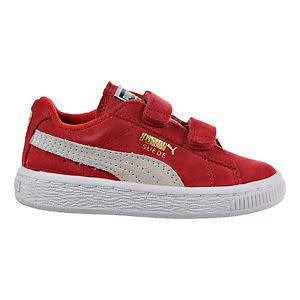 Puma Suede 2 straps PS red/white