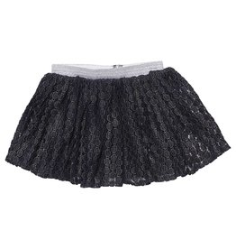 MIO*CO Mio*Co Skirt Party Silver/d.blue
