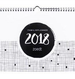 Zoedt Zoedt familieplanner 2018