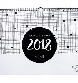 Zoedt Zoedt maandkalender 2018