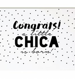 Zoedt Congrats a little chica