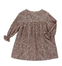 Maed for mini Sahara Leopard dress
