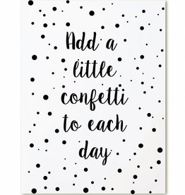 Zoedt Kaart Add a little confetti to each day