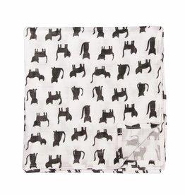 Trixie Trixie hydrofiele doek 110x110 Cats
