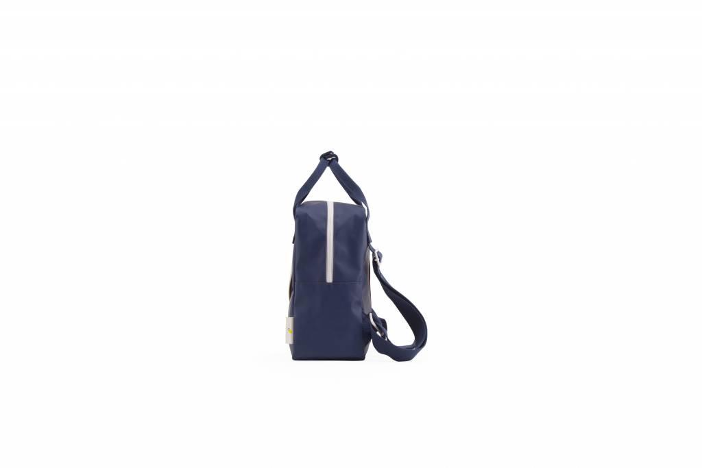 Sticky Lemon Sticky Lemon Backpack small | darkblue / sage green