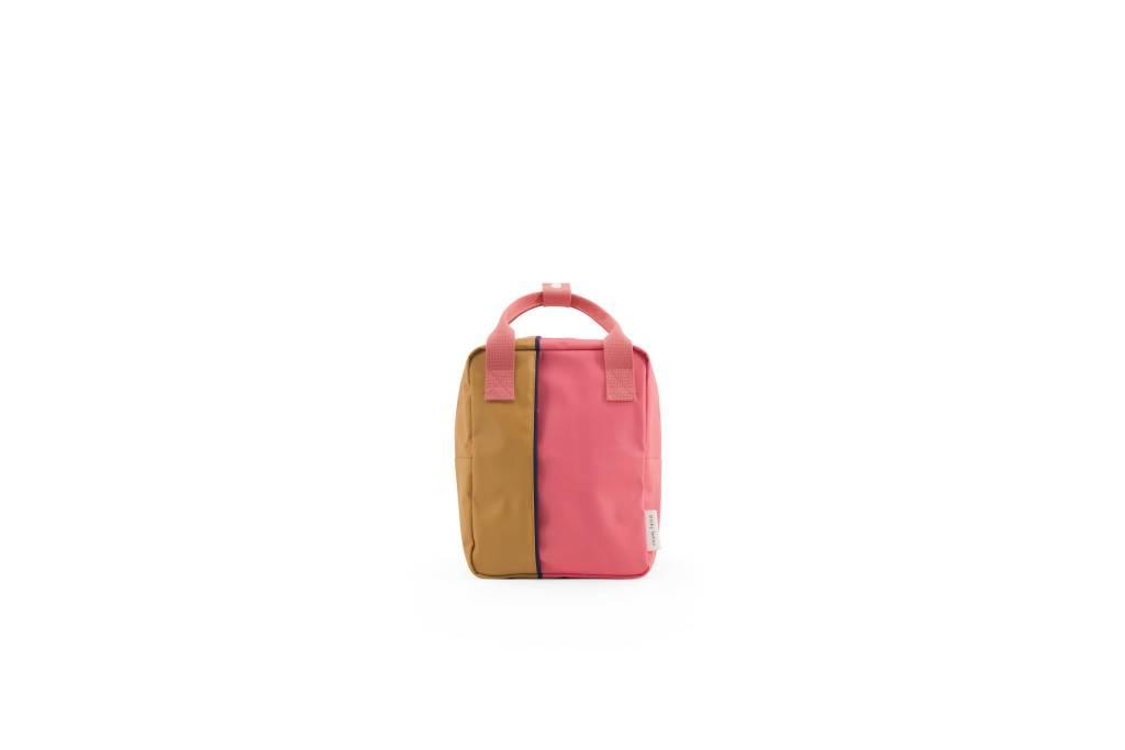Sticky Lemon Backpack small | watermelon pink / caramel fudge