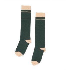 Mingo Knee socks rainforest/apricot