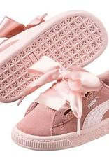 Puma Suede heart jewel peach