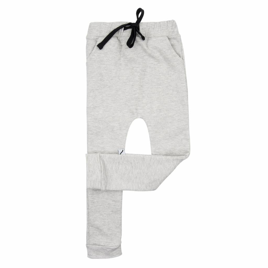 CarlijnQ sweatpants grey melange & silver lurex