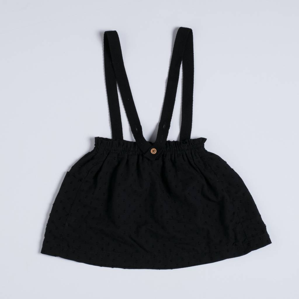 nixnut Strap skirt Black