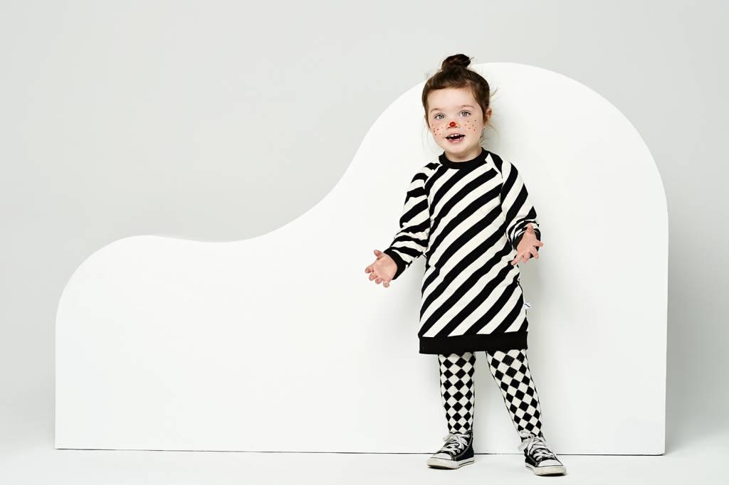 CarlijnQ sweater dress electric zebra