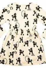 CarlijnQ dress longsleeve poodle