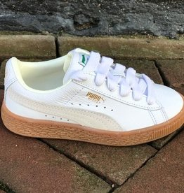Puma Basket Classic gum PS deluxe wit